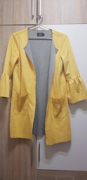 Leather Vest yellow