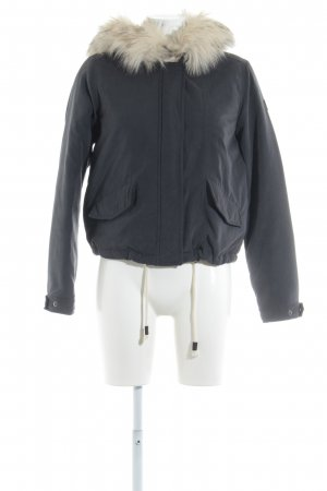 Only Winterjacke anthrazit Casual-Look