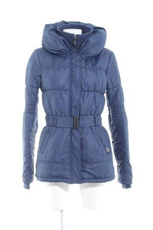 Only Winterjacke blau Casual-Look
