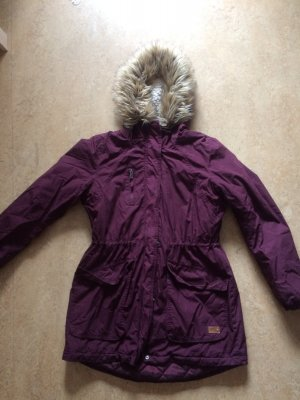 Only Winterjacke, bordeauxrot