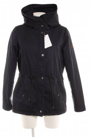 Only Winterjacke dunkelblau Casual-Look