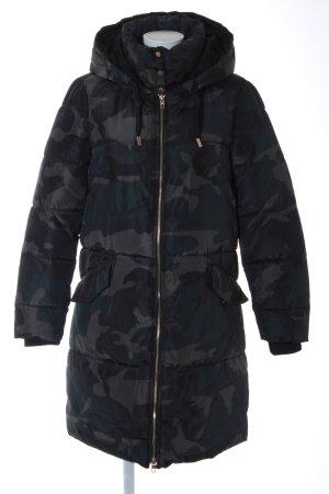 Only Winterjacke dunkelgrün-grüngrau Camouflagemuster Military-Look