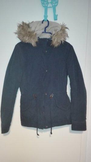 ONLY Winterjacke In marineblau Gr. XS