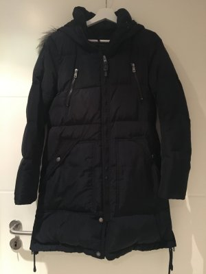 Only Down Coat dark blue