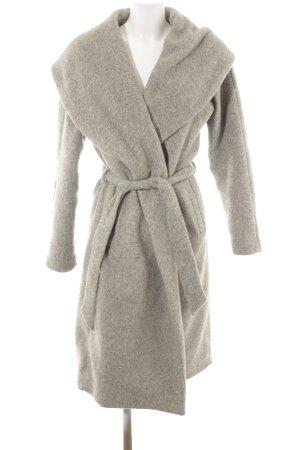 Only Manteau d'hiver gris clair style décontracté