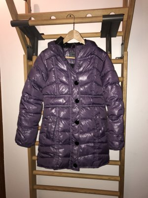 ONLY Wintermantel Steppmantel Mantel Jacke Gr. S 36/34 lila TOP