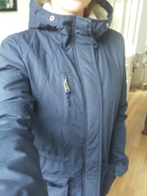 Only Winterparka blau