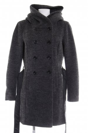Only Cappotto in lana antracite stile casual