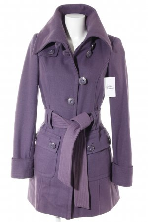 Only Wollmantel lila Casual-Look