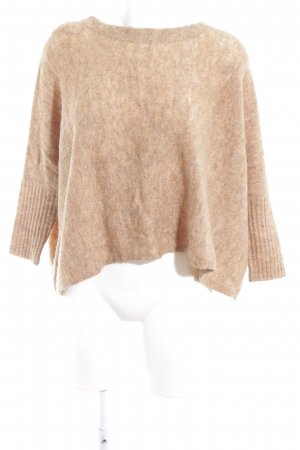Only Wollpullover camel meliert Casual-Look