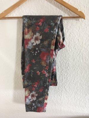 Onlyhose mit Blumenmuster