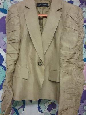 Zara Woman Blazer de esmoquin multicolor