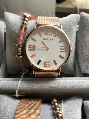 Oozoo Metallarmbanduhr rosegold Uhr