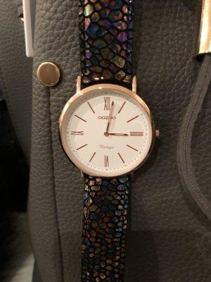 Oozoo Uhr bunt rosegold Metallic mit Garantie blau lila petrol