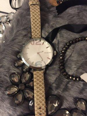 Oozoo Uhr mit Croco Armband echt Leder neu