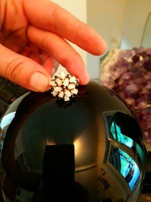 Opal Ring Silber vergoldet