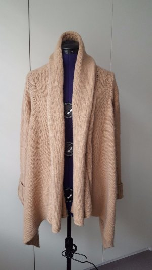 Open knitted alpaca cardigan from Sack's, size S