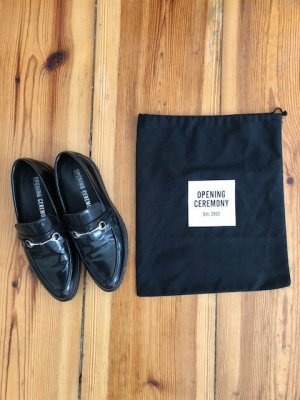 Opening Ceremony Loafers black 39 Lack spitz NP 280