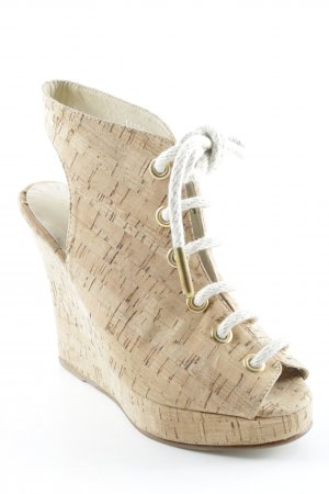 Opening Ceremony Wedge Sandals beige casual look