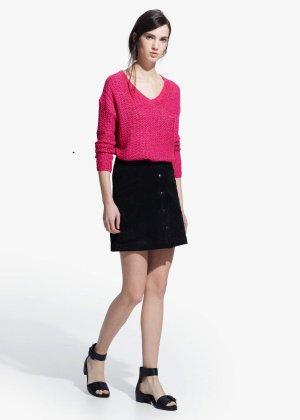 Openwork sweater by Mango