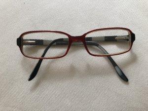 Optische weinrote Brille