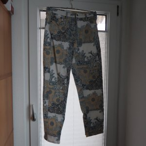 Elly Italia Five-Pocket Trousers multicolored cotton