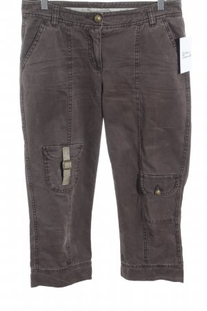 Opus Pantalone a 3/4 marrone stile casual