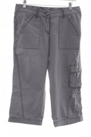 Opus 3/4 Length Trousers light grey casual look