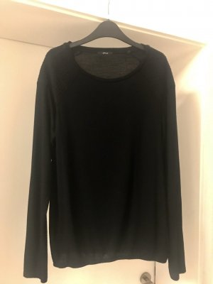 Opus Short Sleeve Sweater black