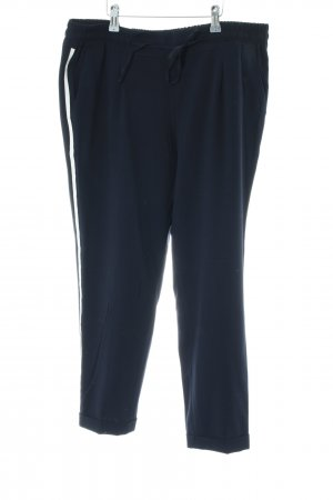 Opus 7/8 Length Trousers black-white casual look