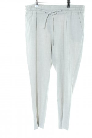Opus 7/8 Length Trousers light grey flecked casual look