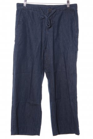 Opus Jeans 7/8 bleu foncé style décontracté