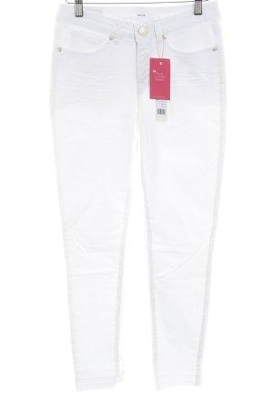 "Opus Jeans a 7/8 ""Elma"" bianco"