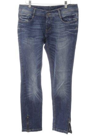 Opus 7/8 Jeans stahlblau Casual-Look