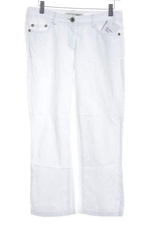 Opus 7/8 Jeans weiß Casual-Look