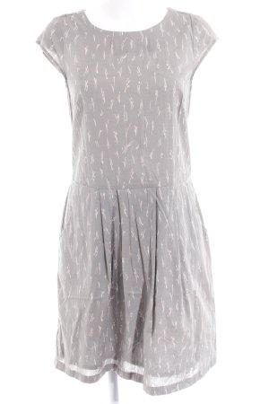 Opus A-Linien Kleid abstraktes Muster Nude-Look