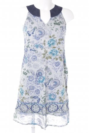 Opus A-Linien Kleid florales Muster Business-Look