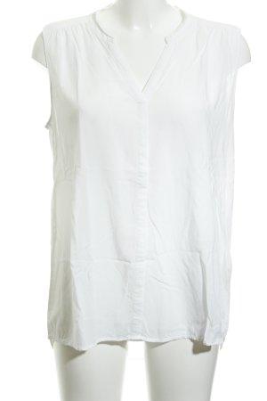 Opus ärmellose Bluse weiß Elegant
