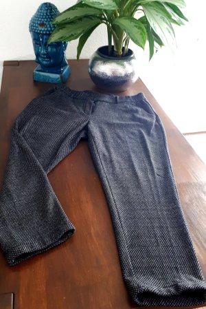 Opus Woolen Trousers dark grey
