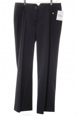Opus Suit Trouser dark blue pinstripe business style