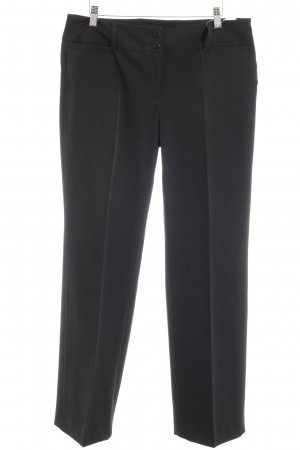 Opus Pantalone da abito nero modello web stile casual