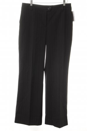 Opus Suit Trouser taupe pinstripe business style