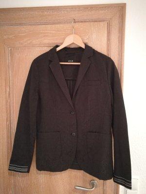 Opus Wool Blazer black cotton