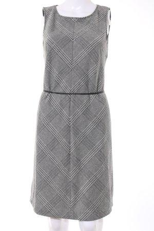 Opus Robe crayon gris clair motif à carreaux style décontracté