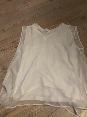 Opus Blusa sin mangas blanco