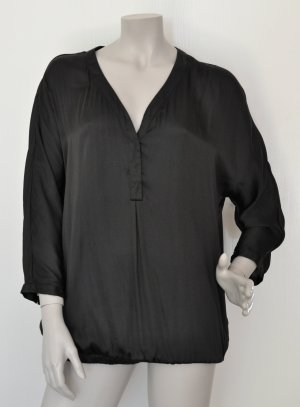 Opus Oversized blouse zwart