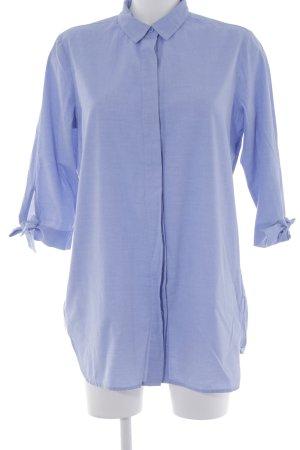 Opus Blusenkleid himmelblau Jeans-Optik