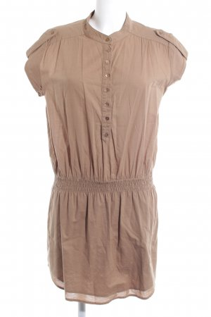 Opus Blouse Dress ocher safari look