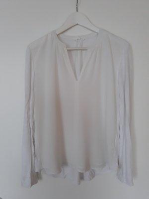 Opus Slip-over blouse wit Katoen