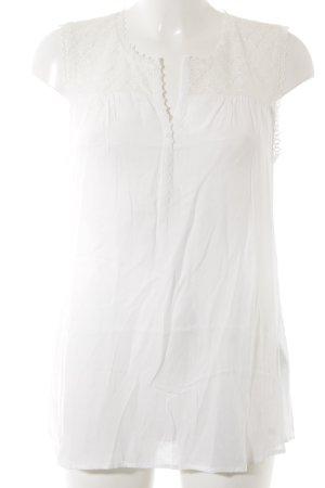 Opus Blusa bianco effetto bagnato